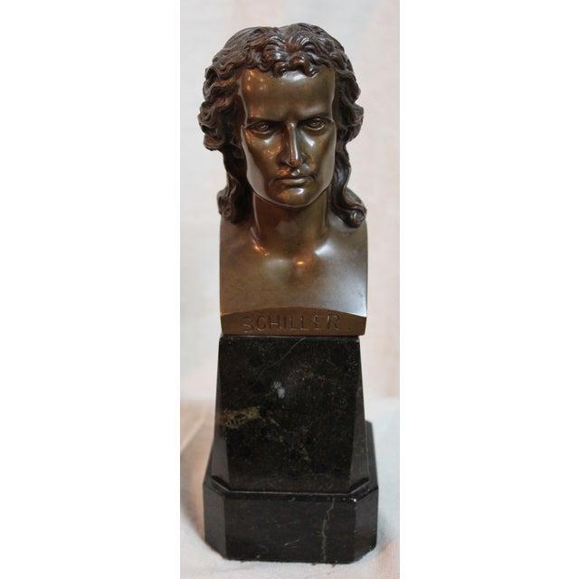 Traditional Vintage Schiller Bust For Sale - Image 3 of 7