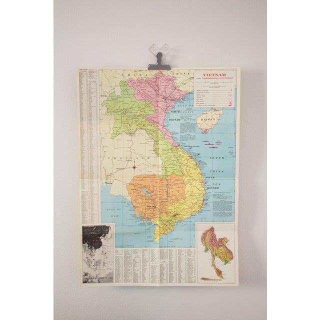 1970s Map of Vietnam - Image 2 of 6