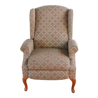Lane Furniture Wingback Recliner For Sale