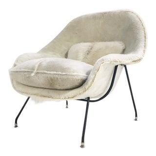Forsyth Vintage Eero Saarinen Womb Chair Restored in Brazilian Cowhide