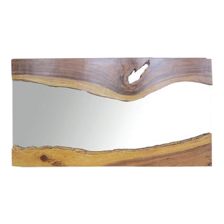 Live Edge Wall Mirror For Sale