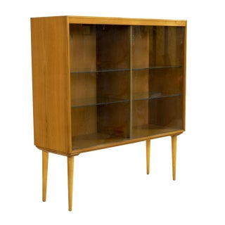 1950s Paul McCobb Style Display Cabinet For Sale