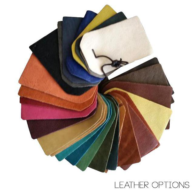 """Wood Custom to Order """"The Color Hues"""" Collection Leather Chair For Sale - Image 7 of 9"""