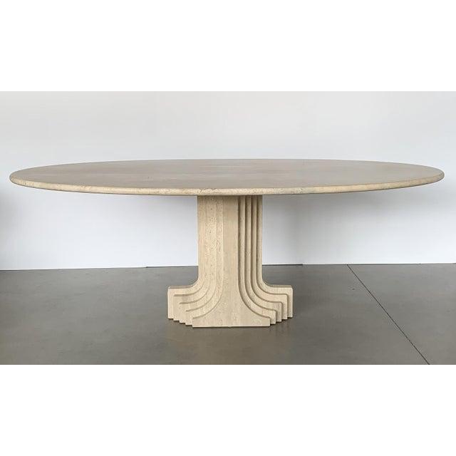 """Designer: Carlo Scarpa Italy - Circa 1970s Dimensions: 29"""" H x 79"""" W x 47"""" D Condition: Excellent vintage condition. Carlo..."""