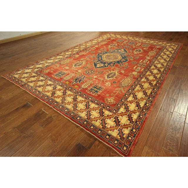 "Mojave Collection Kazak Rug - 7'5"" x 11'5"" - Image 3 of 11"