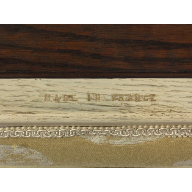 19th C. French Painted Bench For Sale - Image 10 of 11