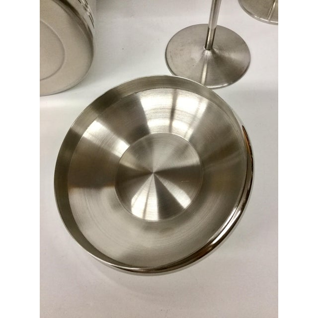1960s Vintage Stainless Copco Martini Set - 3 Pieces For Sale - Image 9 of 11