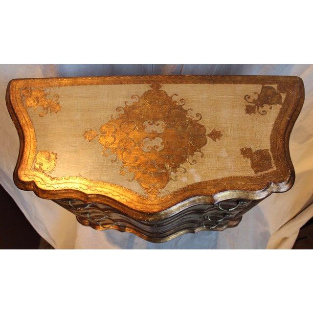 Vintage Italian Gilt Wood Dresser - Image 6 of 11