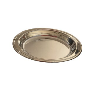 Christofle Silver Plated Serving Tray For Sale