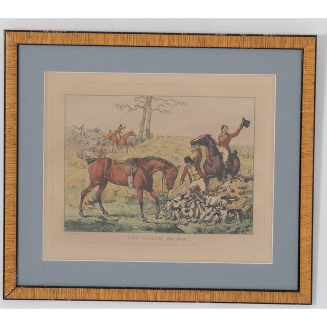 Early 19th Century 1825 English Hunting Prints by Henry Alken, London - Set of 6 For Sale - Image 5 of 12