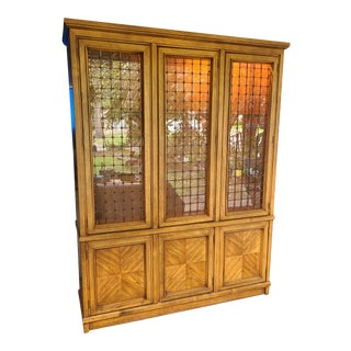 1960s Drexel Compatica China Cabinet For Sale