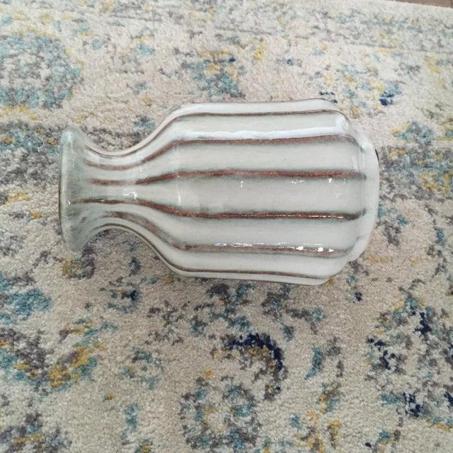 Mid-Century Modern Glazed Pottery Vase - Image 5 of 11