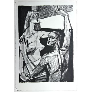 Jerry Opper Two Figures by a Window For Sale
