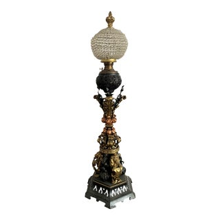 Unusual Monumental Floor Lamp For Sale