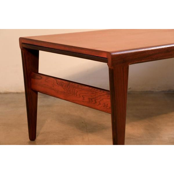 Mid-Century Modern Johannes Andersen for Uldum Møbelfabrik Danish Coffee Table For Sale - Image 3 of 8