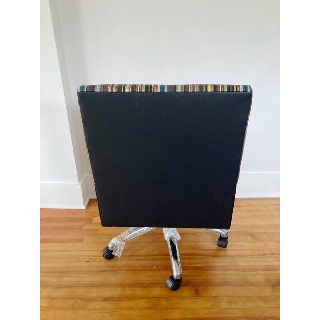 J L F Collections Rolling Desk Chair For Sale - Image 4 of 12