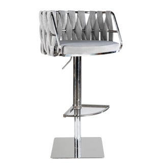 Milano Adjustable Swivel Bar Chair Stool For Sale