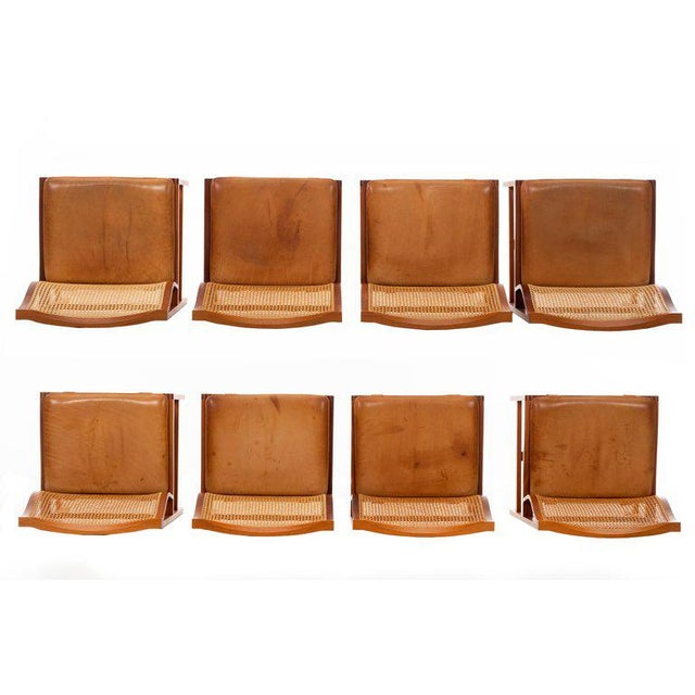 Rud Thygesen & Johnny Sorensen Set of 8 Dining Chairs For Sale - Image 11 of 13