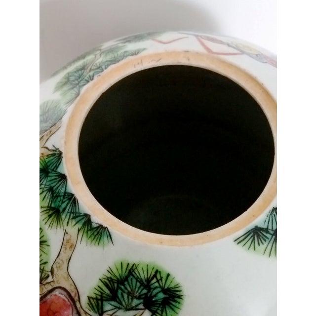 Antique Chinese Ceramic Melon Jar - Image 6 of 7
