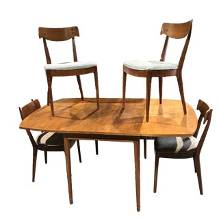 Kipp Stewart for Drexel Mid-Century Modern Dining Set - Set of 5