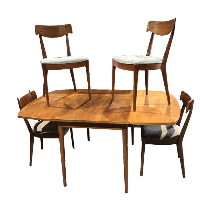 Kipp Stewart for Drexel Mid-Century Modern Dining Set - Set of 5 - Image 1 of 8