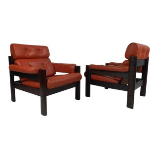 Danish Modern Lounge Chairs - a Pair