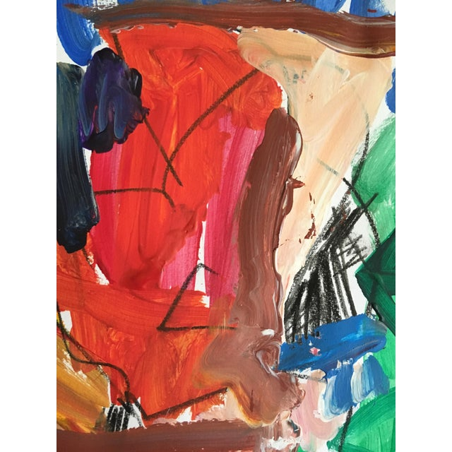 Abstract Sean Kratzert 'Traveler' Collage For Sale - Image 3 of 4
