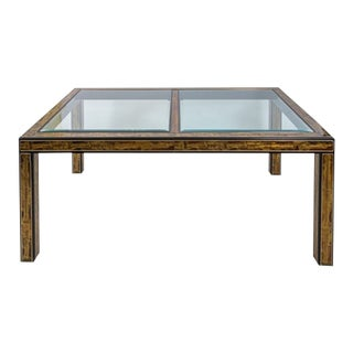 20th Century Mastercraft Dining Table For Sale