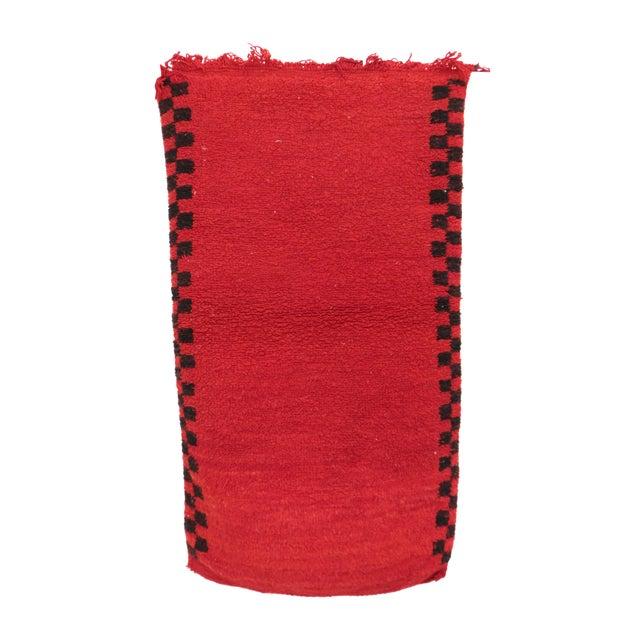 "Boujad Vintage Moroccan Rug - 2'0"" x 3'7"" For Sale"
