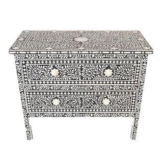 Black & White Bone Inlay Dresser
