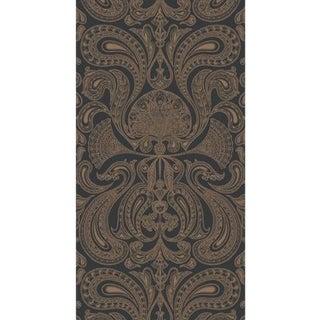 Cole & Son Malabar Wallpaper Roll - Bronze/Black For Sale