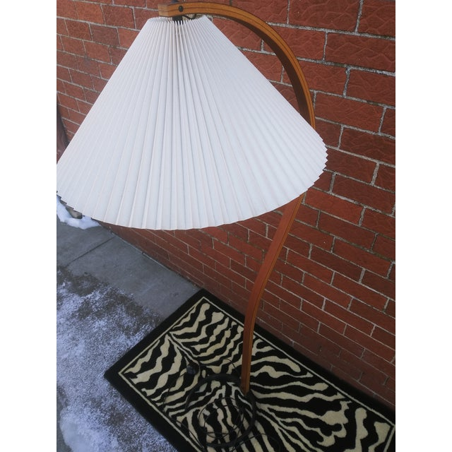 Vintage Danish Modern Bentwood Mads Caprani Floor Lamp For Sale In Detroit - Image 6 of 13