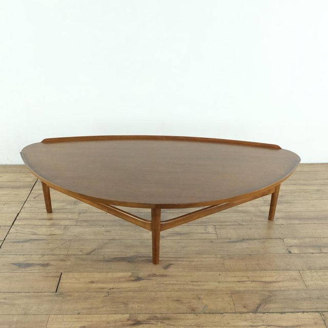 Mid-Century Modern Mid-Century Modern Finn Juhl Teak Coffee Table For Sale - Image 3 of 10