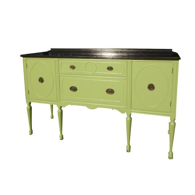 Vintage Green Buffet/Sideboard - Image 1 of 5