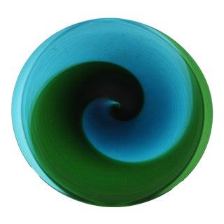 "Tapio Wirkkala for Venini Italian 1960s or 70s Glass ""Coreani"" Charger For Sale"