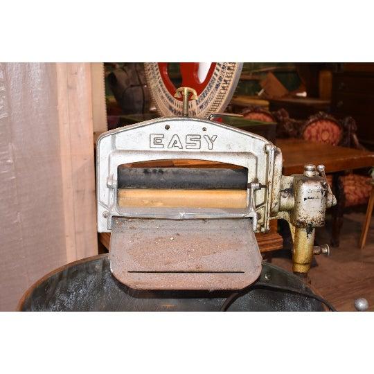 "Turn of the Century Vintage Copper Tub ""Easy"" Antique Washing Machine Syracuse washing machine co. 52""h x 30""w Tub 25""..."