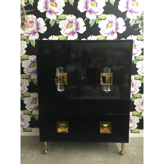 Jonathan Adler Crawford Bar Cabinet For Sale - Image 9 of 9