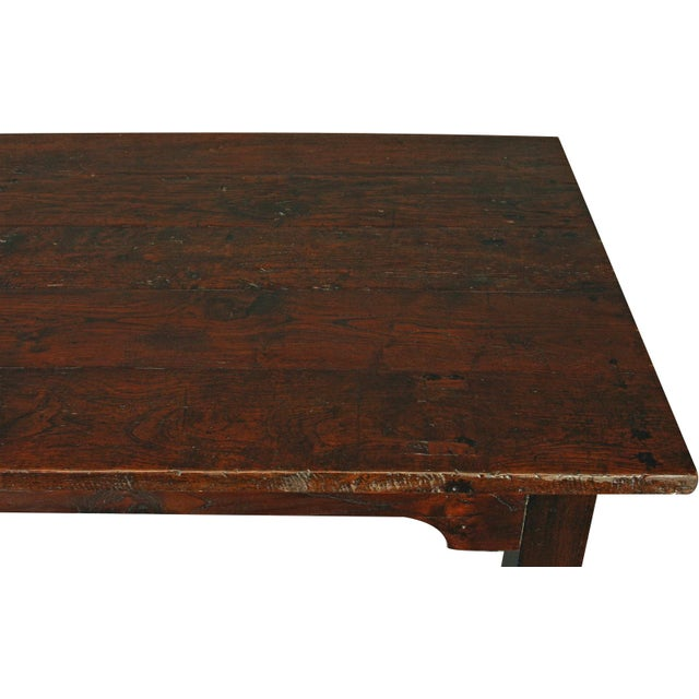 French Country Plank-Top Dining Table - Image 4 of 8