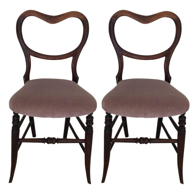 Pair of 19th Century Victorian Walnut Chairs For Sale - Image 11 of 11