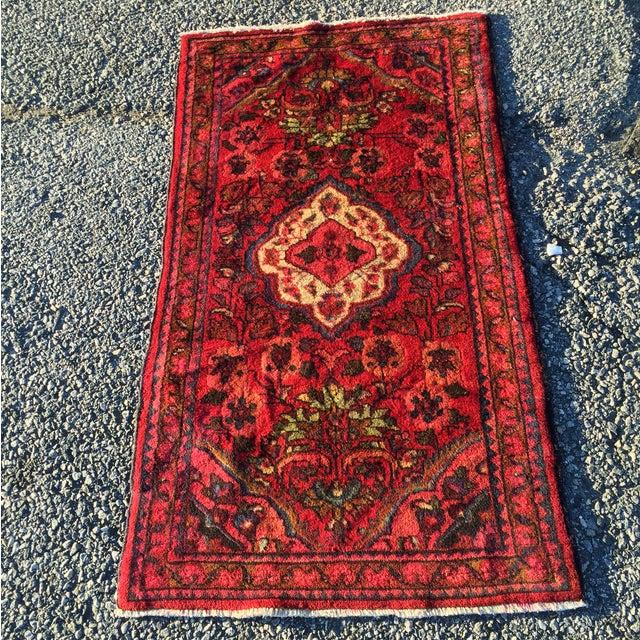 Vintage Lilihan Persian Rug - 2′4″ × 4′3″ - Image 2 of 7