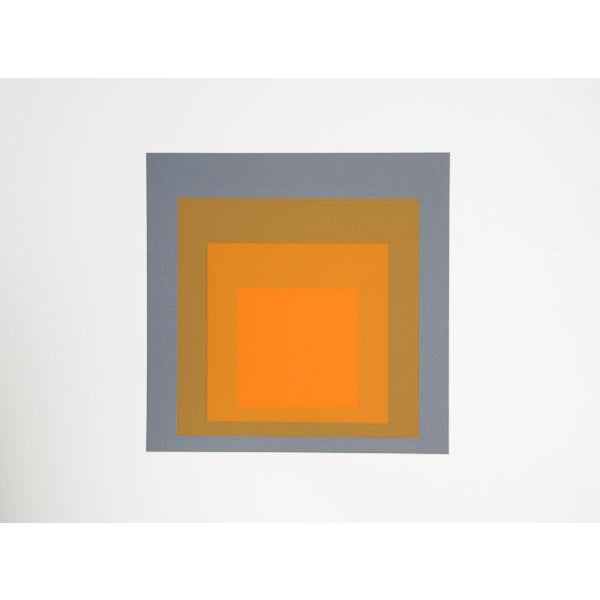 "Modern Josef Albers ""Portfolio 2, Folder 24, Image 1"" Print For Sale - Image 3 of 3"