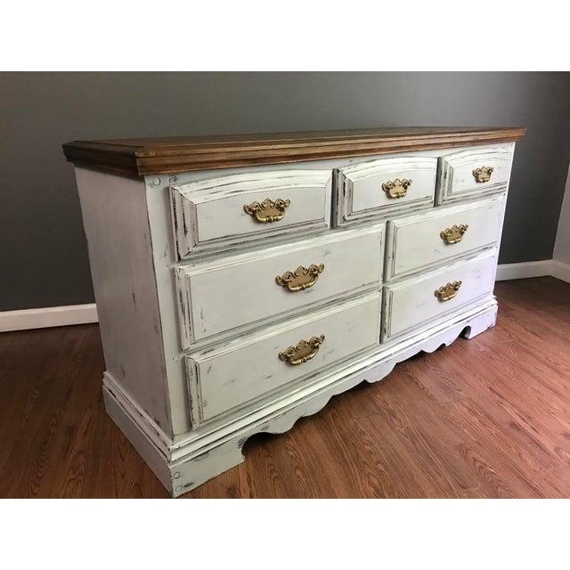 Vintage Distressed Dresser - Image 2 of 11