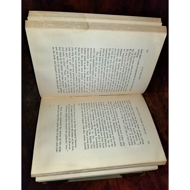 The Life Record of Hw Graber Texas Ranger Dedicated First Edition For Sale In Dallas - Image 6 of 10