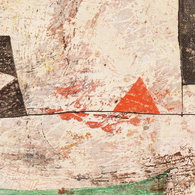 Blue Isami Adachi Geometric Abstract 1950s For Sale - Image 8 of 11