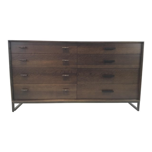 Caracole Modern Artisan Walnut Finished Dresser For Sale