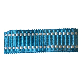 Samuel Sons Turquoise Trim 7.75 Yards For Sale