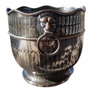 Silver Sheffield Plate Cachepot For Sale