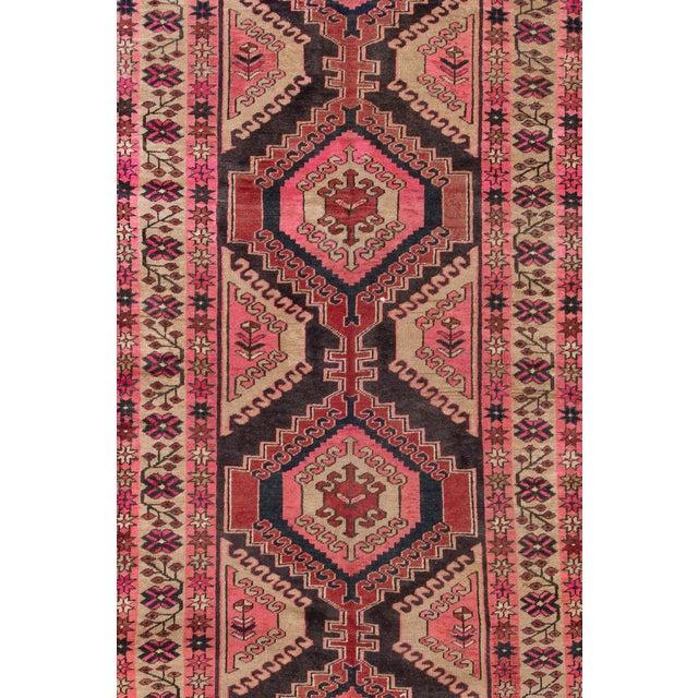 "Vintage Persian Heriz Rug, 3'8"" X 10'9"" - Image 3 of 8"