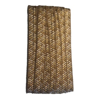 Samuel & Sons Normandy Silk Handwoven Braid Trim - Remnant Piece