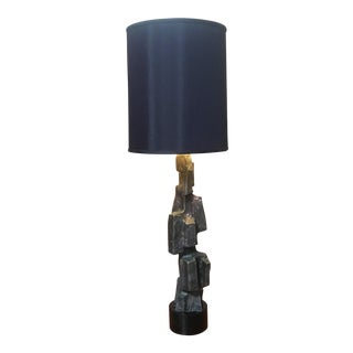 Mid-20th Century Brutalist Laurel Lamp Company Sculptural Table Lamp